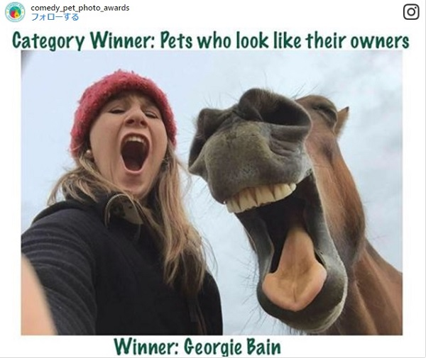ペットの写真の面白さを競うフォトコンテストの大賞が発表!