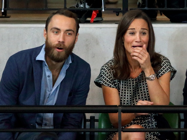 Pippa Middleton watches Prince Harry and Zara Phillips play wheelchair rugby at Invictus Games