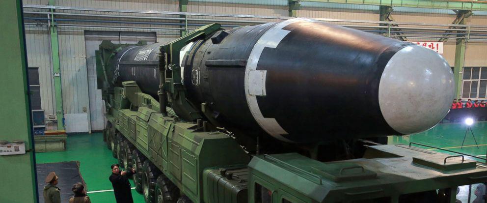 Así es el temido misil balístico de Corea del Norte