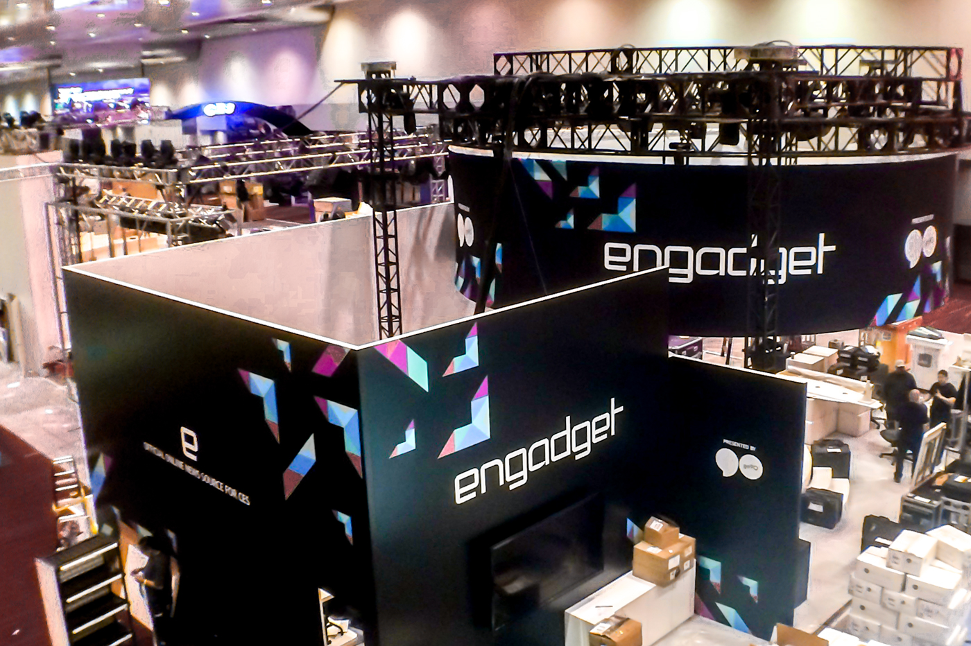 The Engadget CES stage show kicks off at 1:30PM ET tomorrow