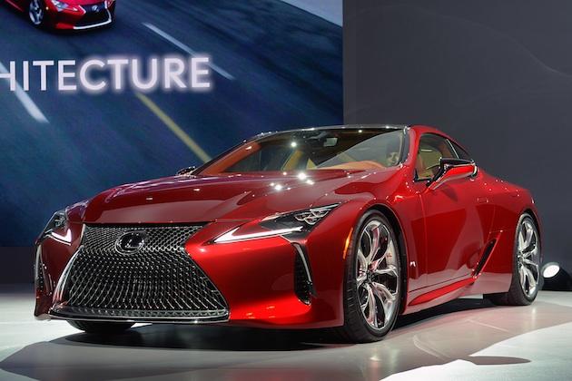 【北米国際自動車ショー2016】レクサス、新型フラッグシップ・クーペ「LC500」を発表!