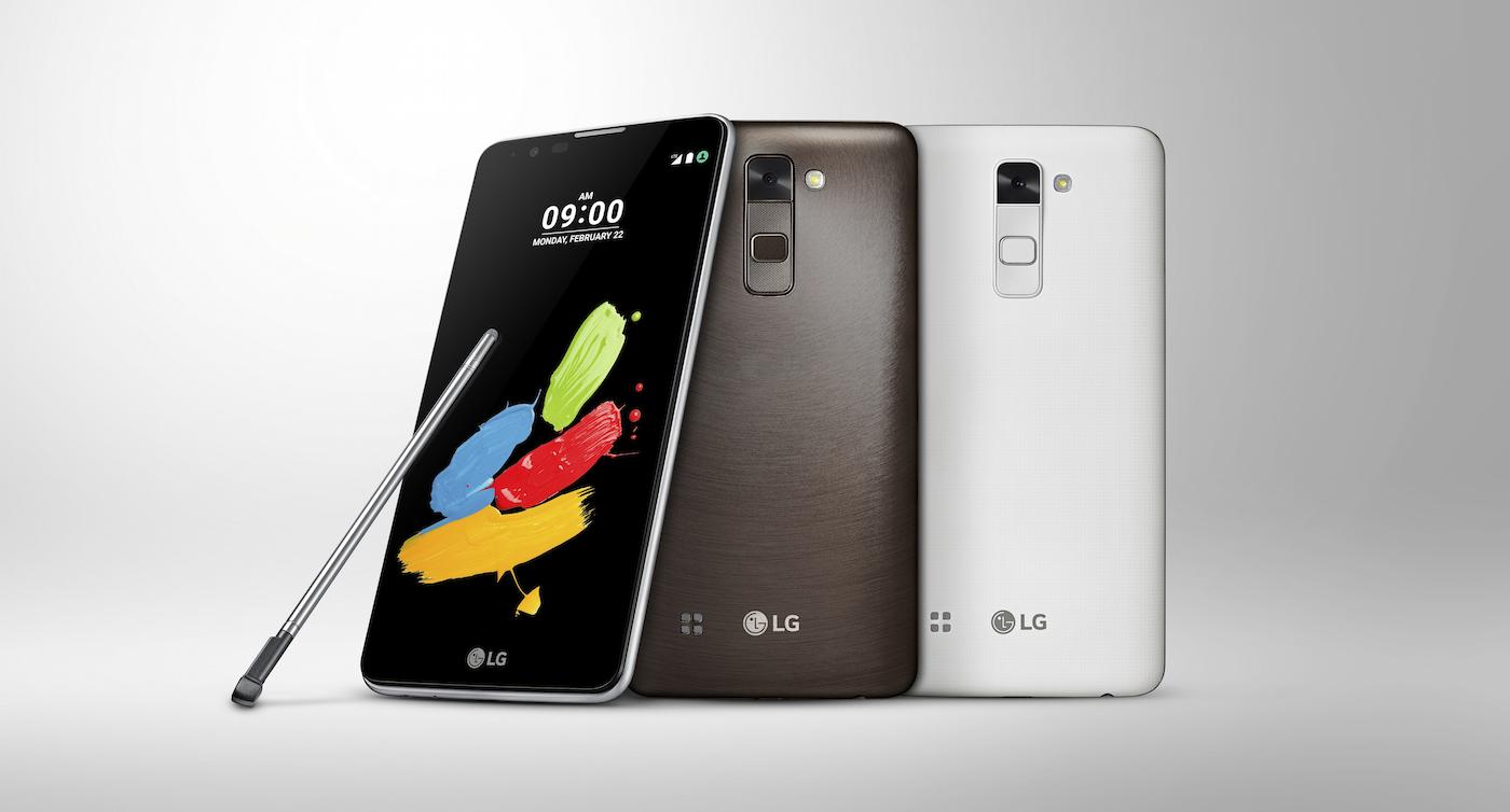 LG no se rinde con el lápiz y presenta el Stylus 2