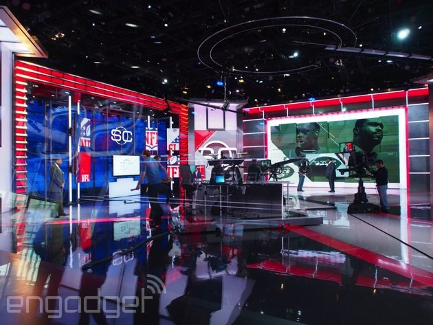 This Is Espn S New Home For Sportscenter Engadget