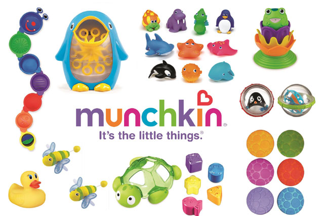 Munchkin bath toys competition