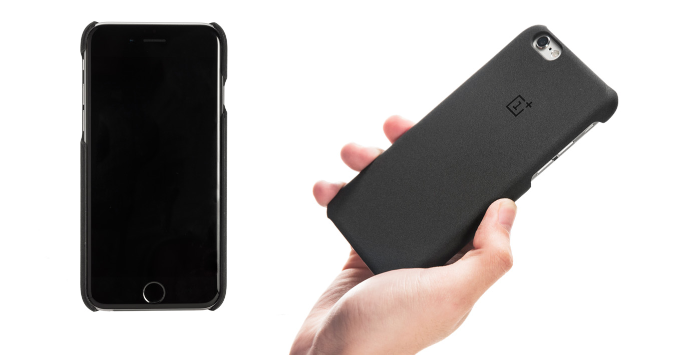 The OnePlus iPhone case comes with a OnePlus X invite