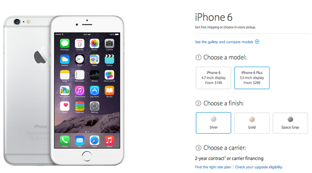 Apple, carriers and retailers now accepting pre-orders for the iPhone 6 and 6 Plus