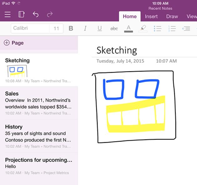Microsoft combina OneNote para iPhone y iPad (y actualiza su app en Android)