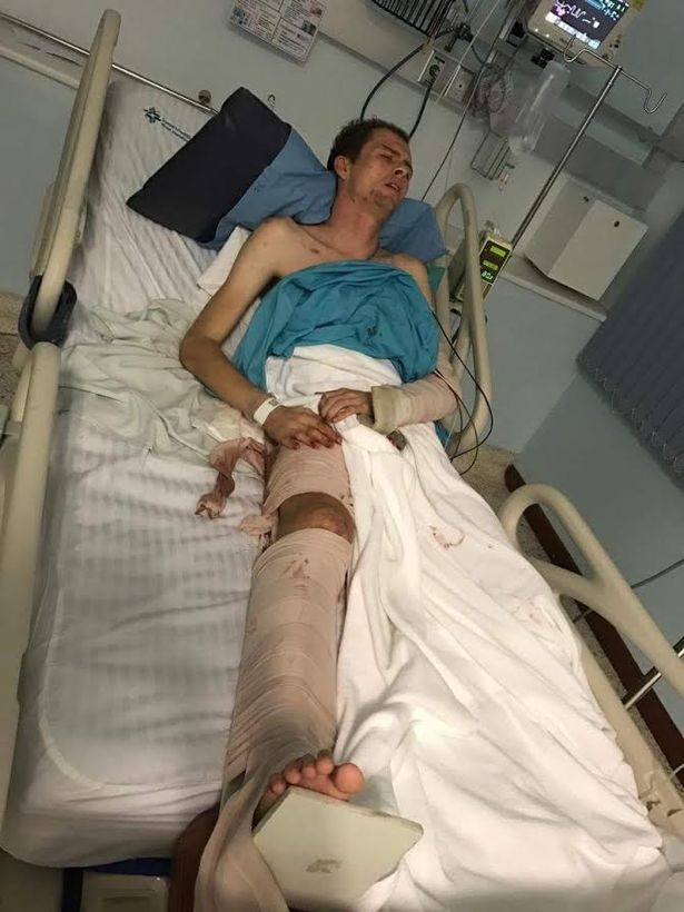 Insurance firm refuses to pay for seriously injured Brit's treatment