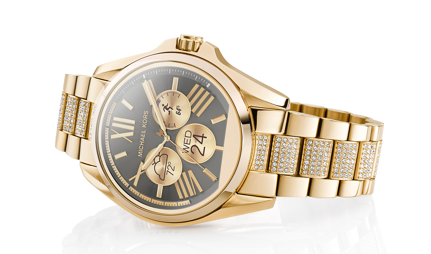 Michael Kors' Android Wear smartwatches can change faces