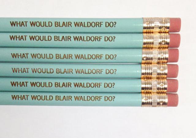 Gossip Girl pencils