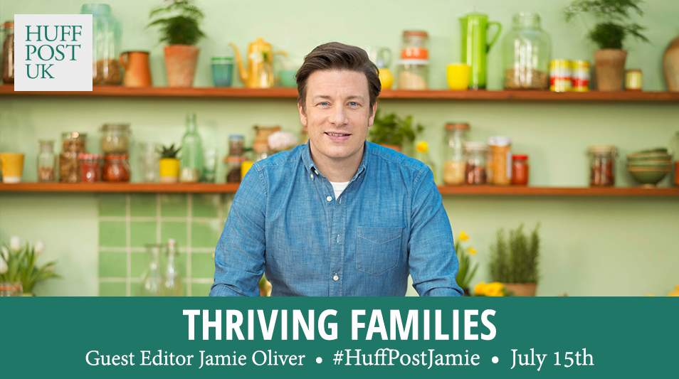 Jamie Oliver guest edits The Huffington Post UK