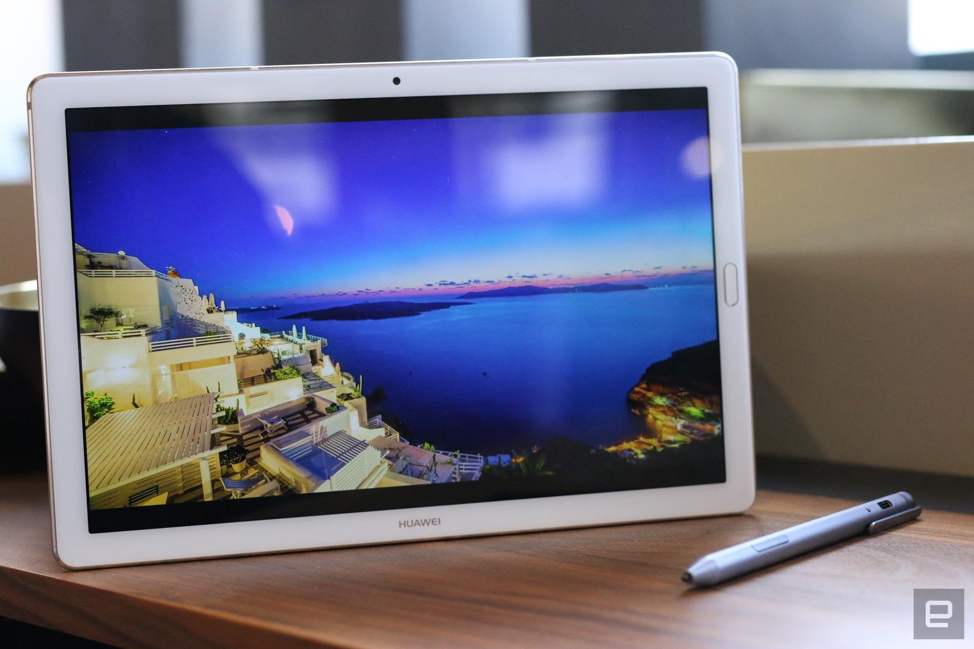 Hands-On: Huawei MediaPad M5 mit gebogenem Bildschirm