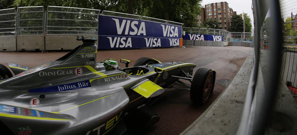 2014/2015 FIA Formula E Championship. London ePrix, Battersea Park, London, United Kingdom. Sunday 28 June 2015 Photo: Zak Mauger/LAT/Formula E ref: Digital Image _L0U0137