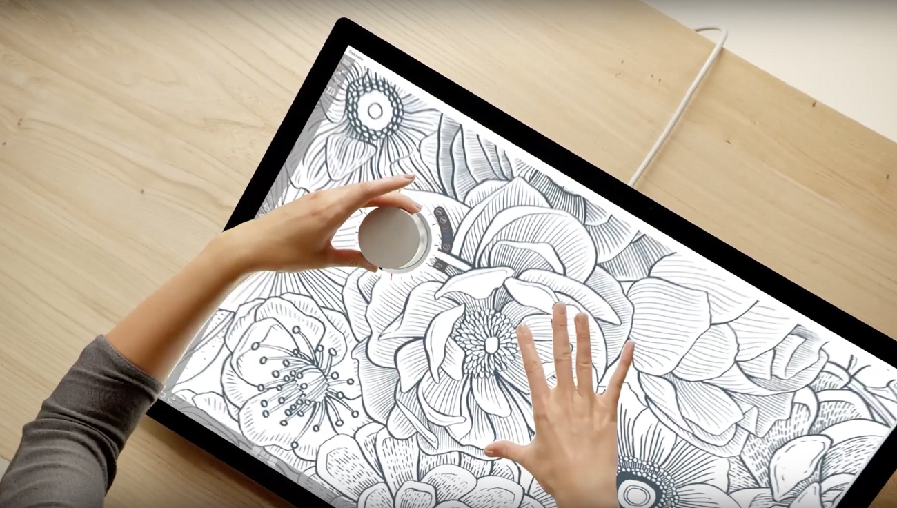 Surface Dial is a physical