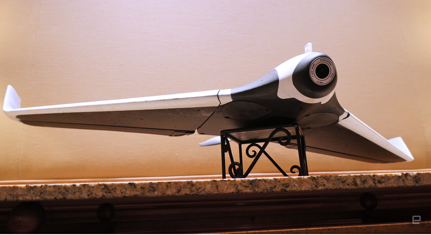 Parrot Disco, un nuevo drone con alma de ultraligero