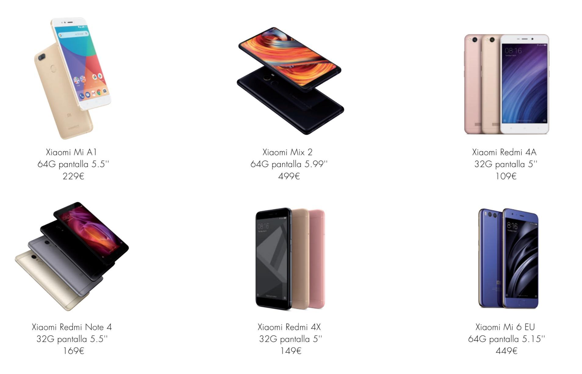 Ahora puedes comprar los productos de Xiaomi en Amazon