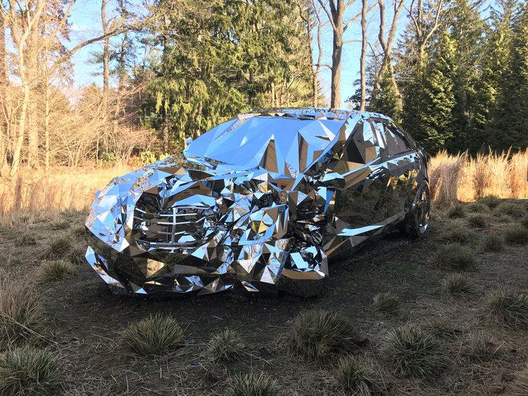 Wreck: Digitaler Schrott-Benz als wundersame Skulptur