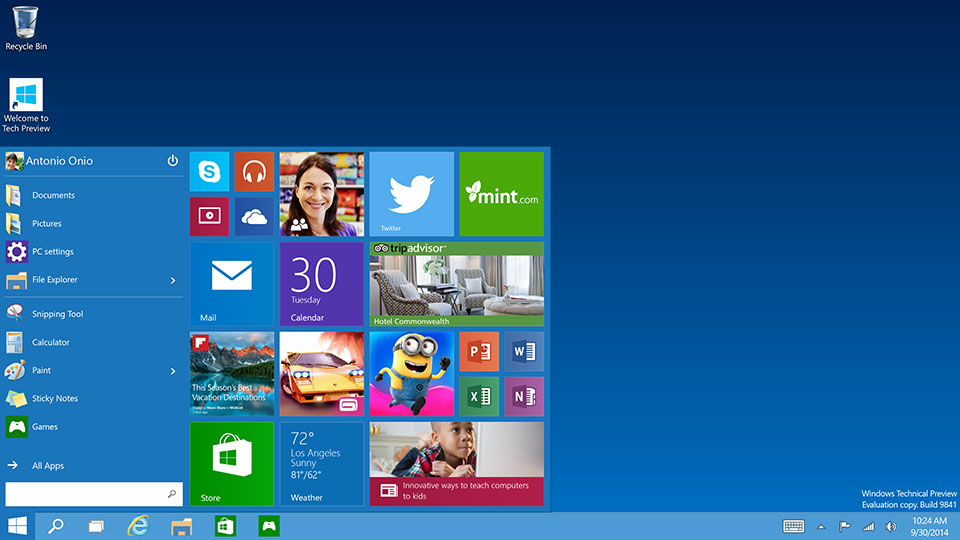 Windows 10 will offer a one-stop shop for apps, music and video