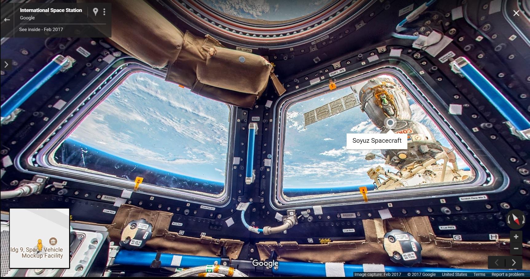 Street View für die ISS