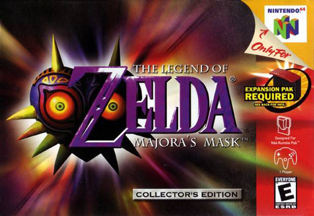 JXE Streams: Let's see how weird 'The Legend of Zelda: Majora's Mask' really is