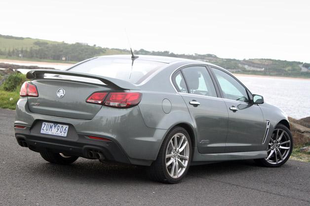 2014 Holden VF Commodore SS V Redline review - track test (video ...