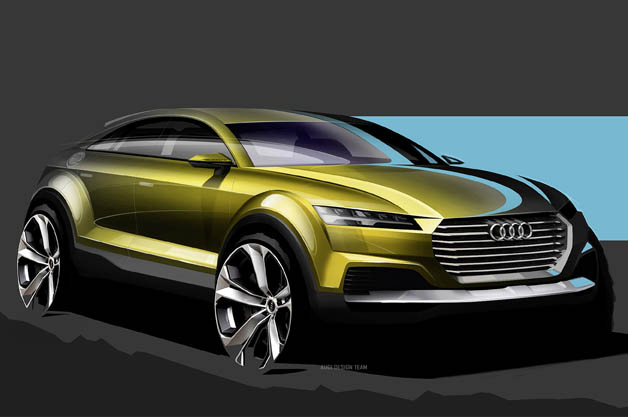 Audi previews sleek crossover concept ahead of Beijing debut