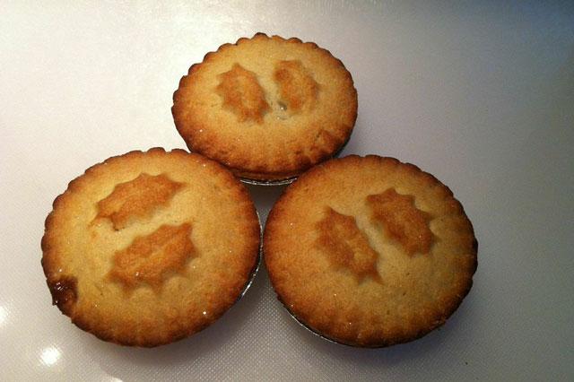Sainsbury's mince pies