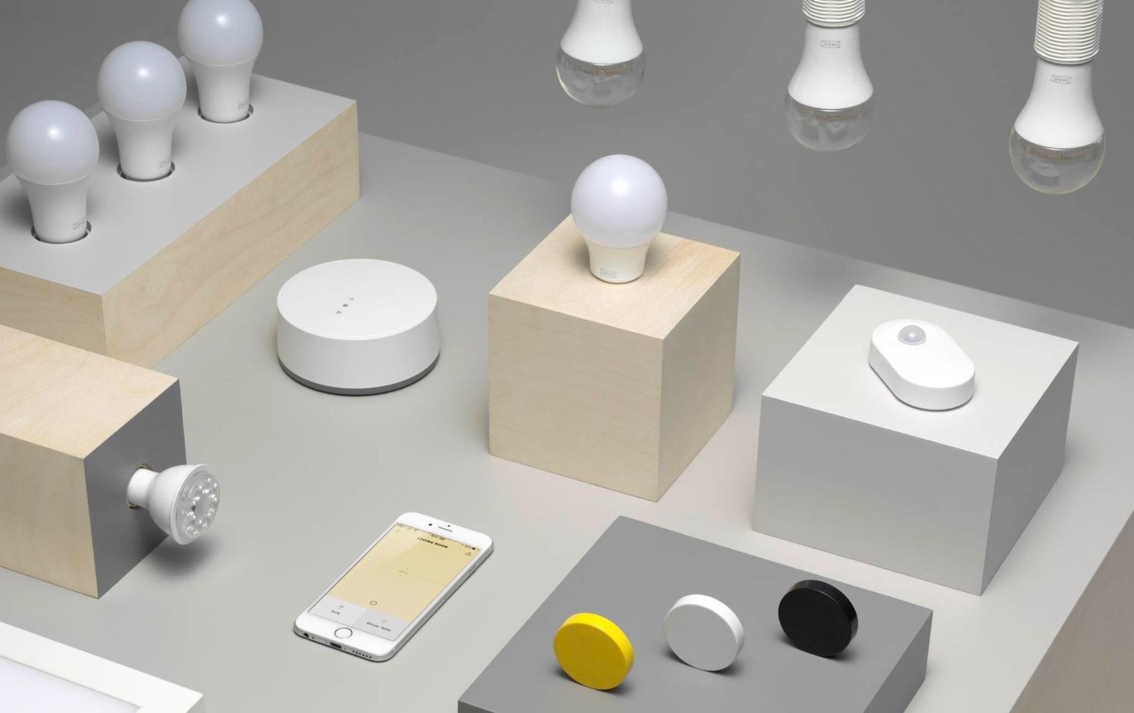 Nein, Ikeas TRÅDFRI Lampen sind noch nicht mit Apples Homekit, Google Home oder Alexa kompatibel