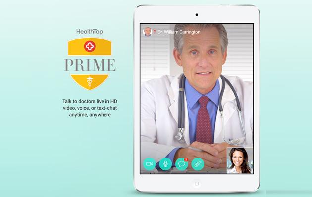 Healthcare - Magazine cover
