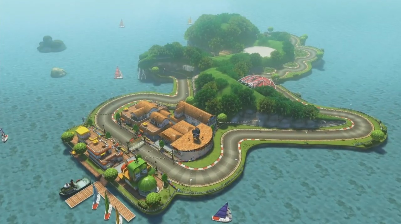 Mario Kart 8 Yoshi Circuit Japanese Trailer
