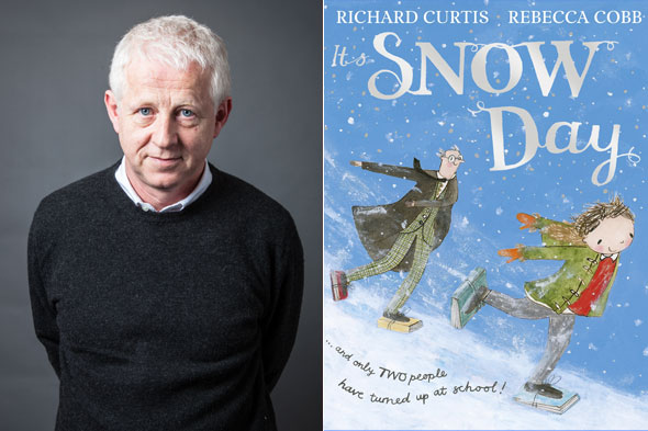 Love Actually director Richard Curtis on Harry Potter, baby names and snow!