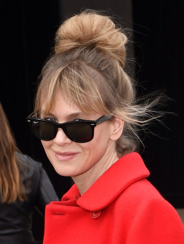Renee Zellweger at Miu Miu AW15 Paris Fashion Week