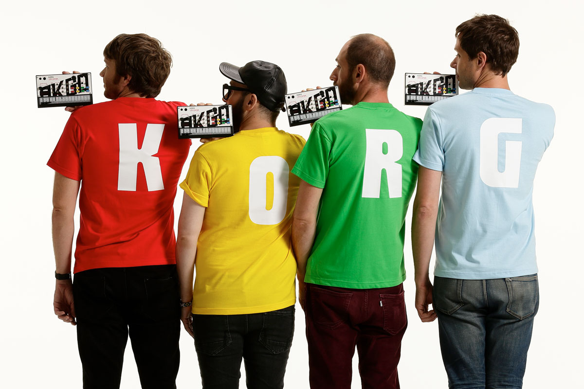 Korg's OK Go Volca Sample is pre-loaded with sounds from 'Hungry Ghosts'