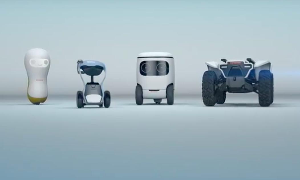 Honda zeigt seine Roboter für die CES
