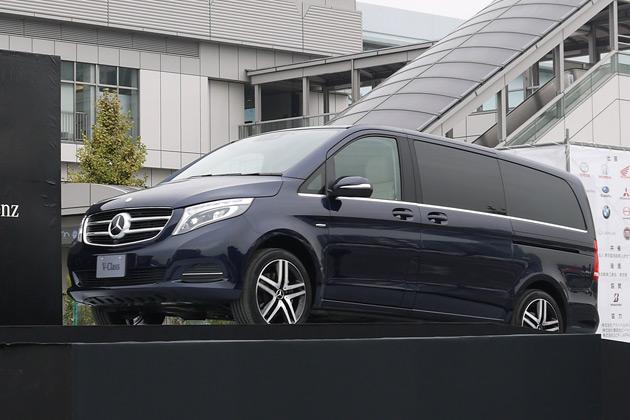 メルセデス・ベンツ、日本市場専用のクリーンディーゼル・エンジンを搭載した新型「Vクラス」を発表
