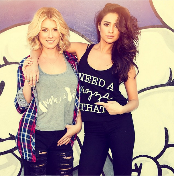 Shay Mitchell Dishes On Her New Fashion Blog, T-Shirt Collection, And Beauty Secrets
