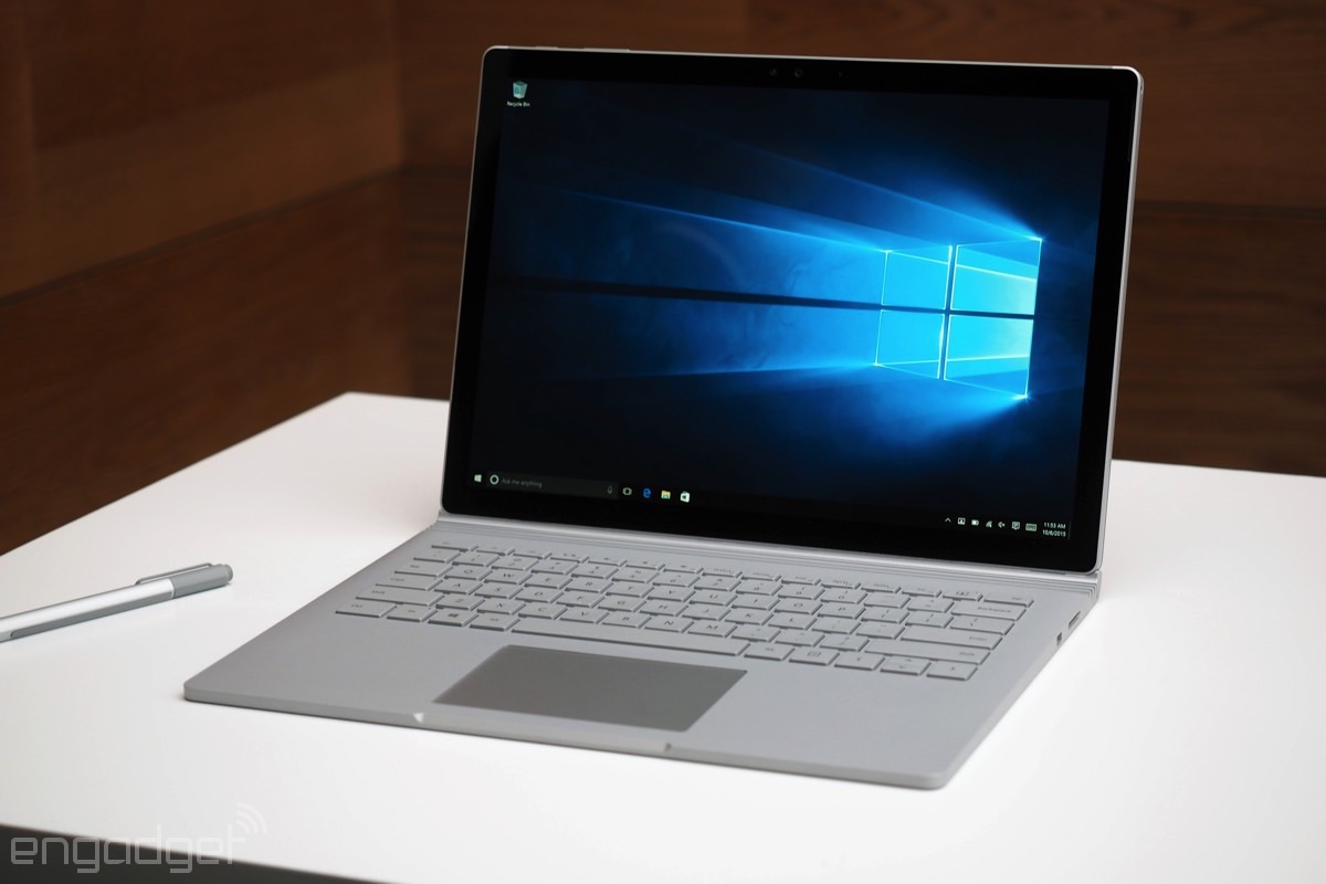 Microsoft's 1TB Surface Book will cost you a hefty $3,199