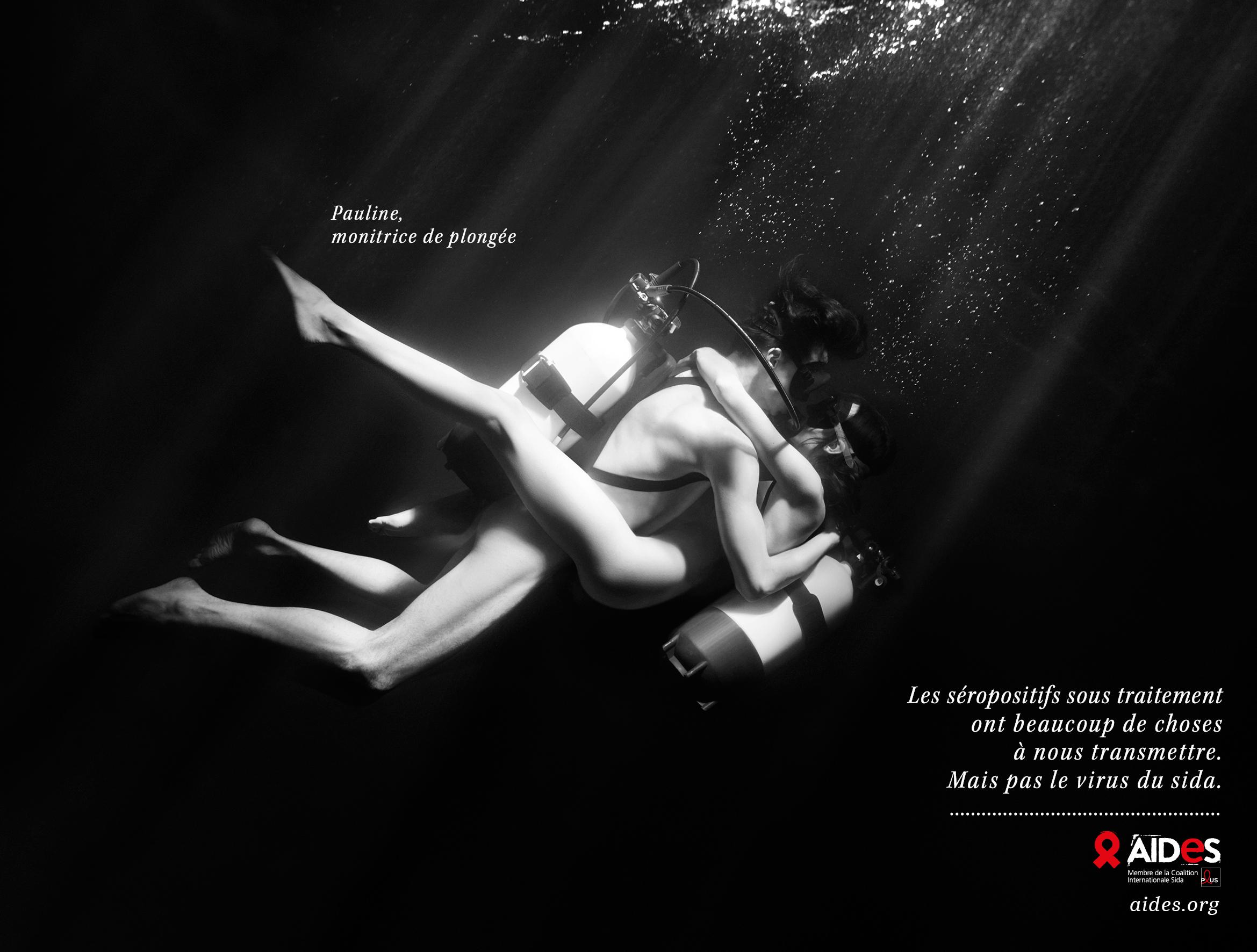 La nouvelle campagne d'Aides devrait (encore) énerver les homophobes