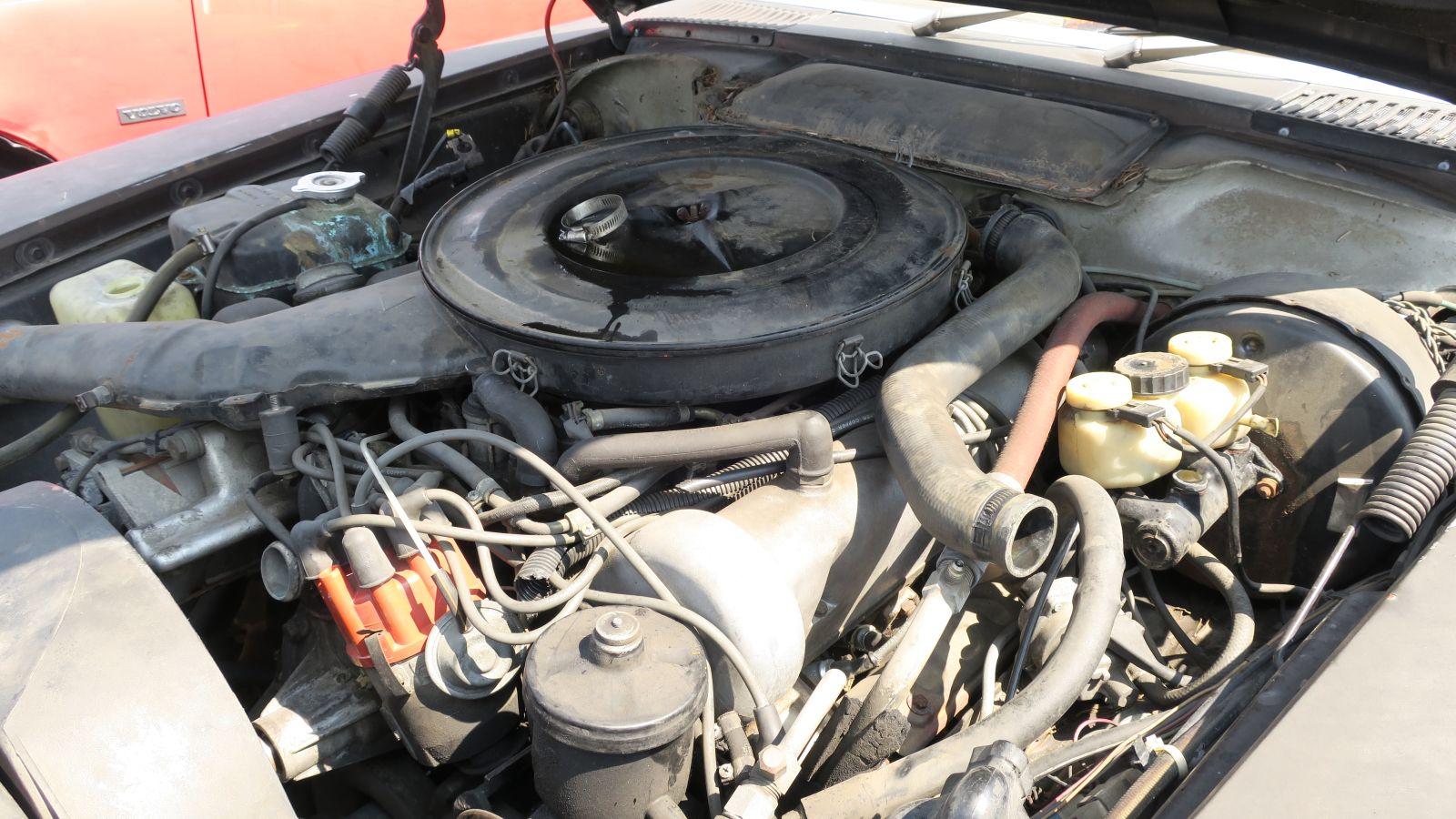 Junkyard gem 1972 mercedes benz 350 sl autoblog for Mercedes benz wrecking yard