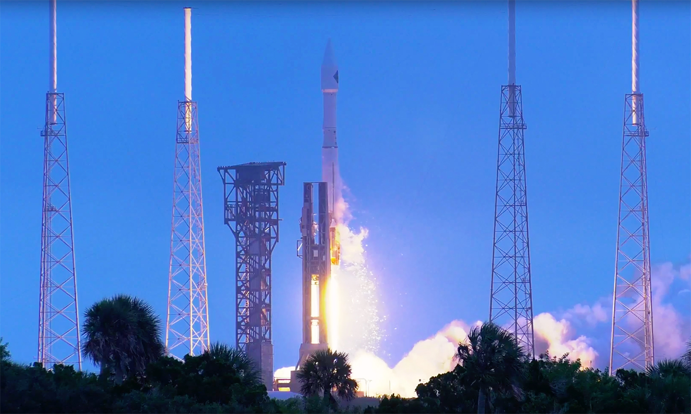 4K-Video: Start der NASA-Rakete Cygnus in UHD