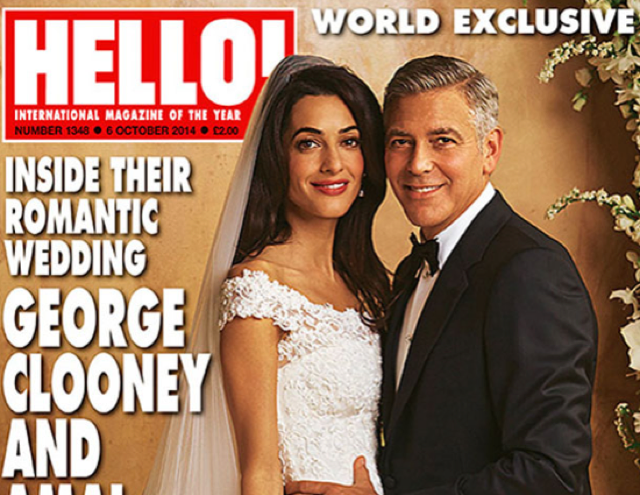 Amal Clooney's wedding dress now available to buy!