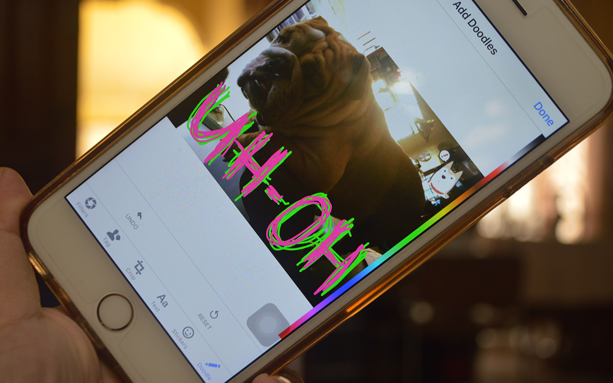 Facebook brings Messenger's doodle trick to its main app