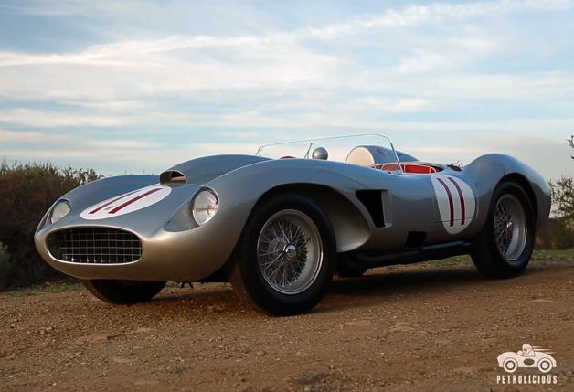 【ビデオ】世界にたった2台! 史上最高に魅力的なフェラーリ「625/250TRC」