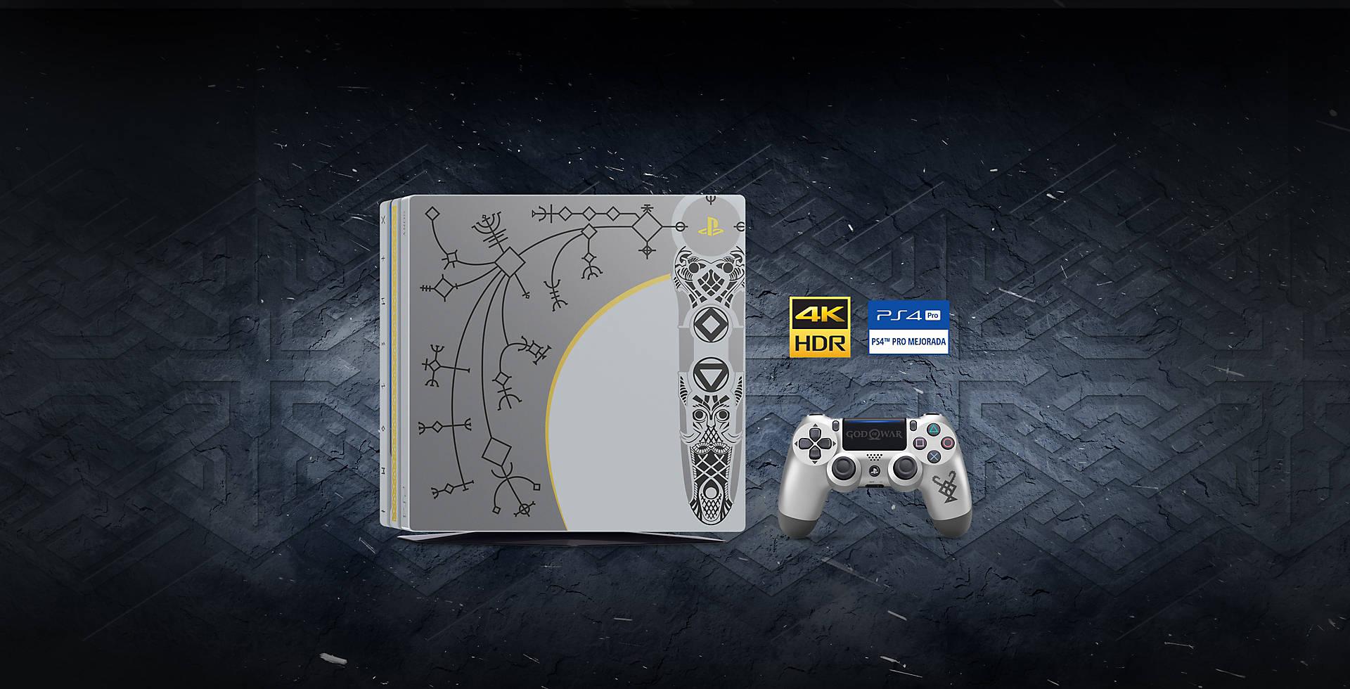 Esta PS4 Pro bendecida por los dioses llegará a las tiendas el 20 de abril