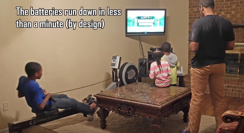 Sólo podrás jugar a esta Wii si haces ejercicio en remo
