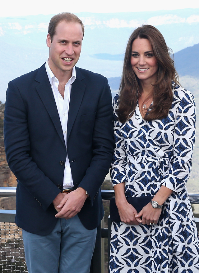 Kate Middleton Prince William Royal Tour