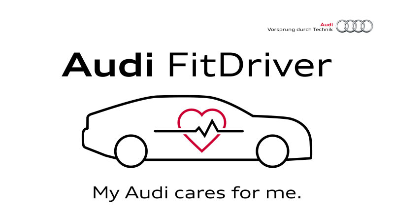 Audi has a plan to keep you healthy while driving