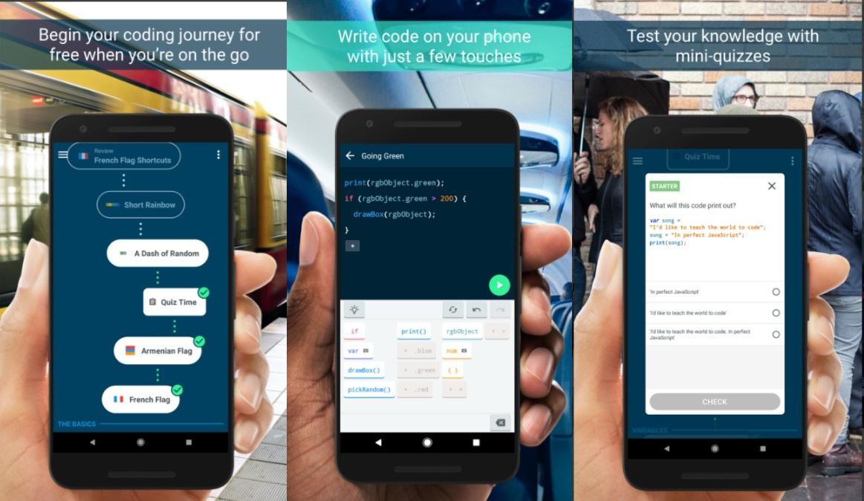 Google's Grasshopper app teaches you how to code
