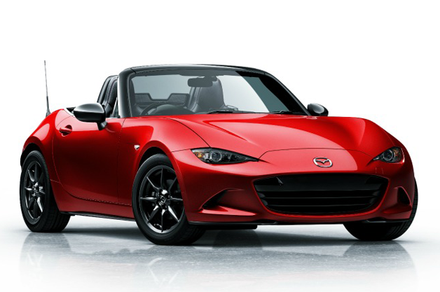 2016 Mazda MX-5 Miata - studio front three-quarter view