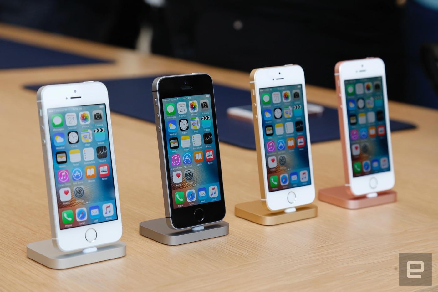El iPhone SE es una poderosa y compacta vuelta al pasado